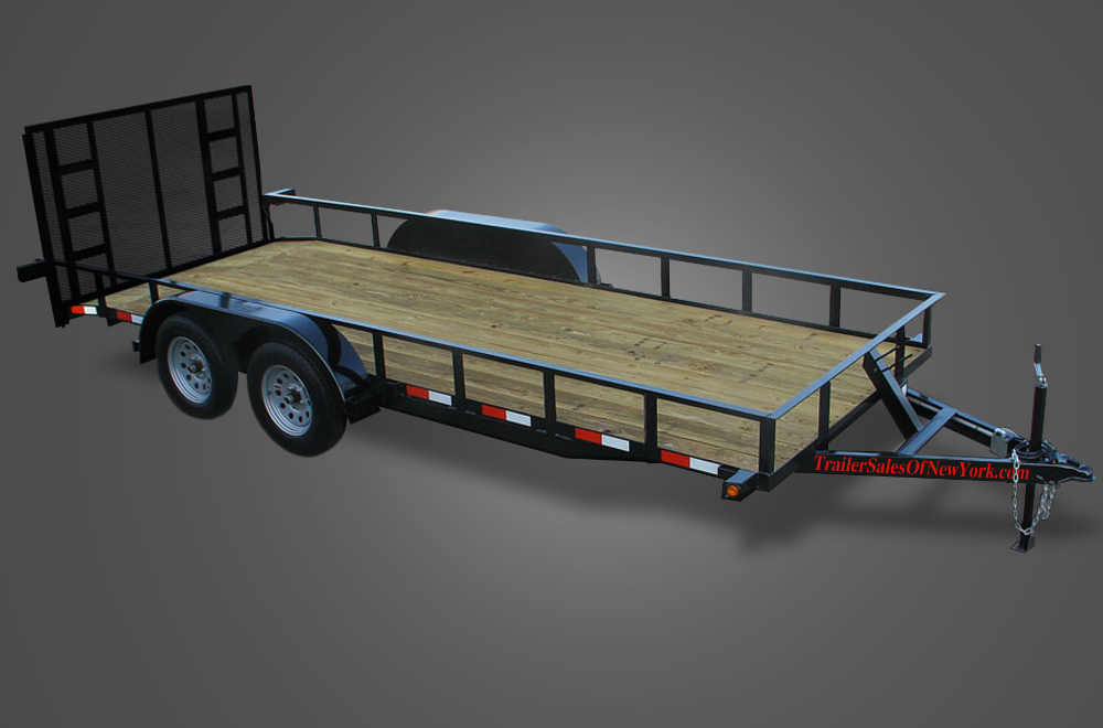 FB 3.5K 18R tandem axle utility trailers by trailer sales of new york Rewiring a Utility Trailer at virtualis.co