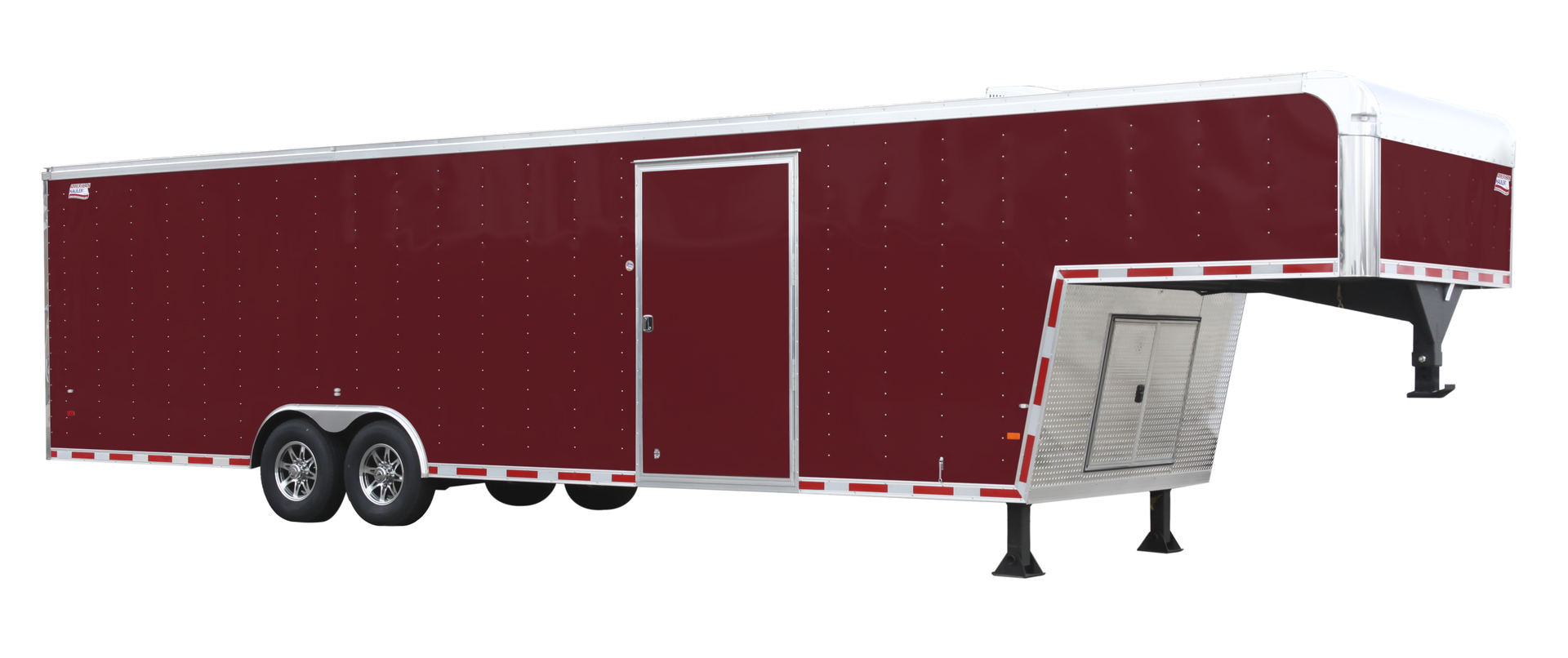 Gooseneck Enclosed Race Trailers