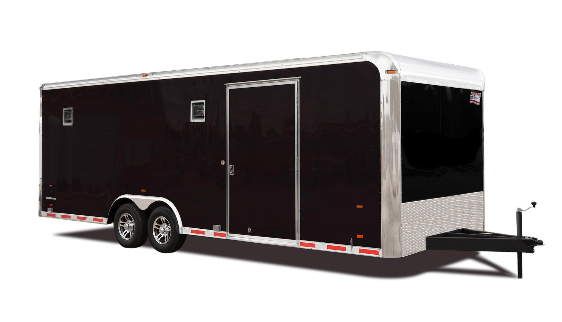 Race Car Bumper Pull Enclosed Trailers